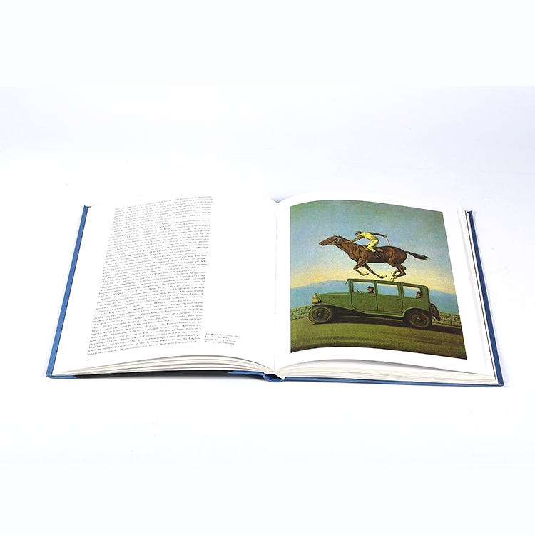 Hot selling high quality cheap hardcover book printing service