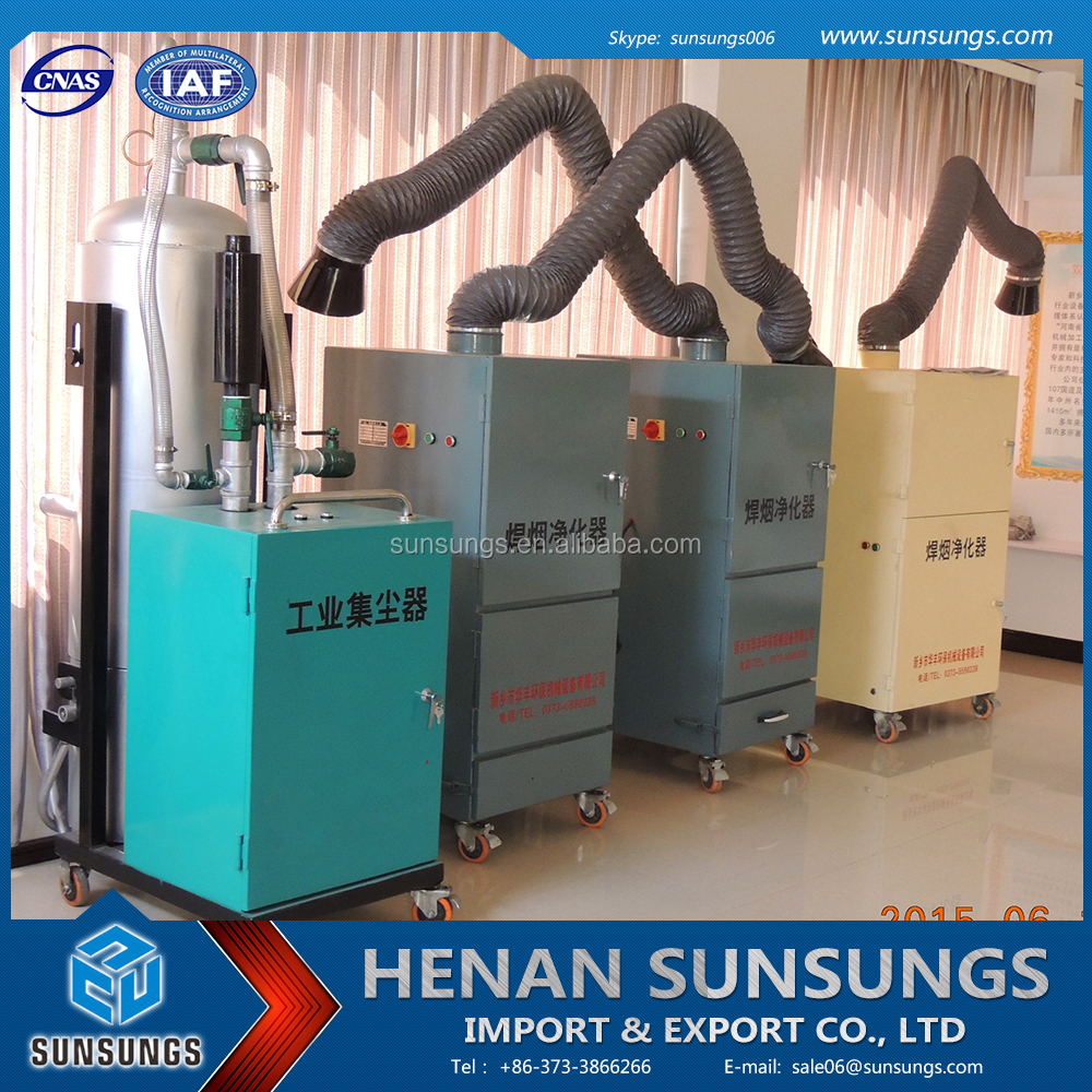 Laser cutting machine air filter/filter machine/drilling machine fume extractor