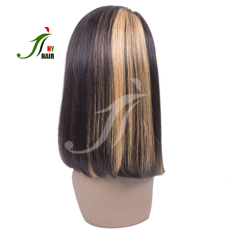 Wholesale Cheap Brazilian Hair Bob Wig Dark Brown Hair Color