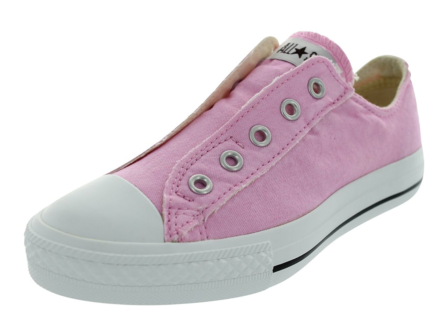 f3e6a8db4c81 Get Quotations · Converse All Star Low Top Slip On Shoes Girls 2.5
