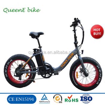 Queene/oem China Supplier Fat Tire Folding E Bike/pantera Electric ...