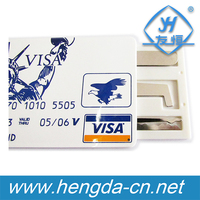 YH9813 High quality VISA James Bond Credit Card Pickset Hook Lock Pick Set