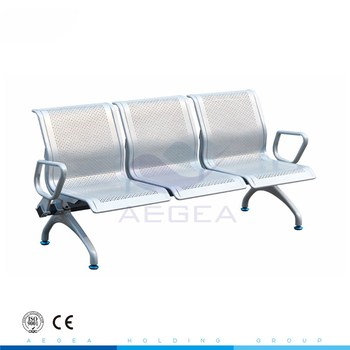 AG-TWC004 economical stainless steel clinic waiting chair for sale