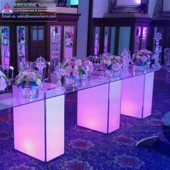 huge selection of 32671 ce4f8 Dessert Food Display Led Acrylic Table For Wedding - Buy Food Display  Table,Dessert Display Table,Wedding Display Table Product on Alibaba.com