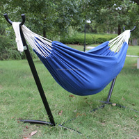 Outdoor Portable Folding Hammock With Frame Stand And Carrying Bag