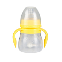New design silicone 8 ounce baby bottle