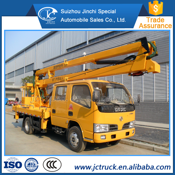 100% Original Top quality 16m man lift truck,aerial lift truck,insulated bucket truck