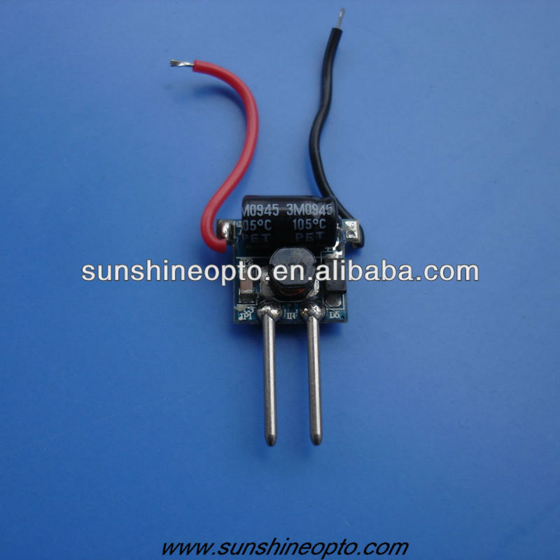 1W/3W Constant Current DC Led Power Supply