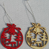 Christmas painted crafts gift tags ornaments