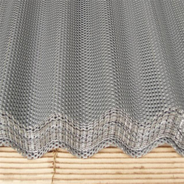Hot dipped galvanized stamped metal sheets