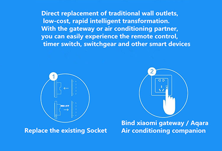 Zigbee Remote Control Switch Socket Intelligent Wireless Wifi Power Consent Socket for TV tit, Electric cooker, Humidifier