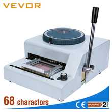 Small Number and Letter Plastic Card Embossing Machine