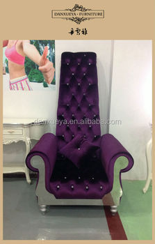 China Wholesale Fabric Sofa High Back Chair With Arm