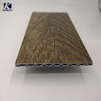 Custom building material gold foam core B1 fireproof aluminum composite panels