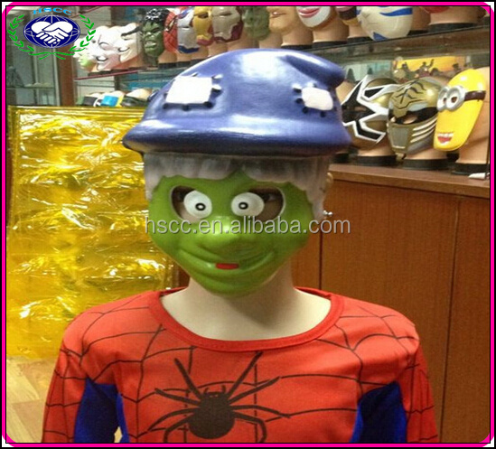 Supplier Halloween Witch Children horror Party mask eva foam halloween mask plastic halloween masks for sale