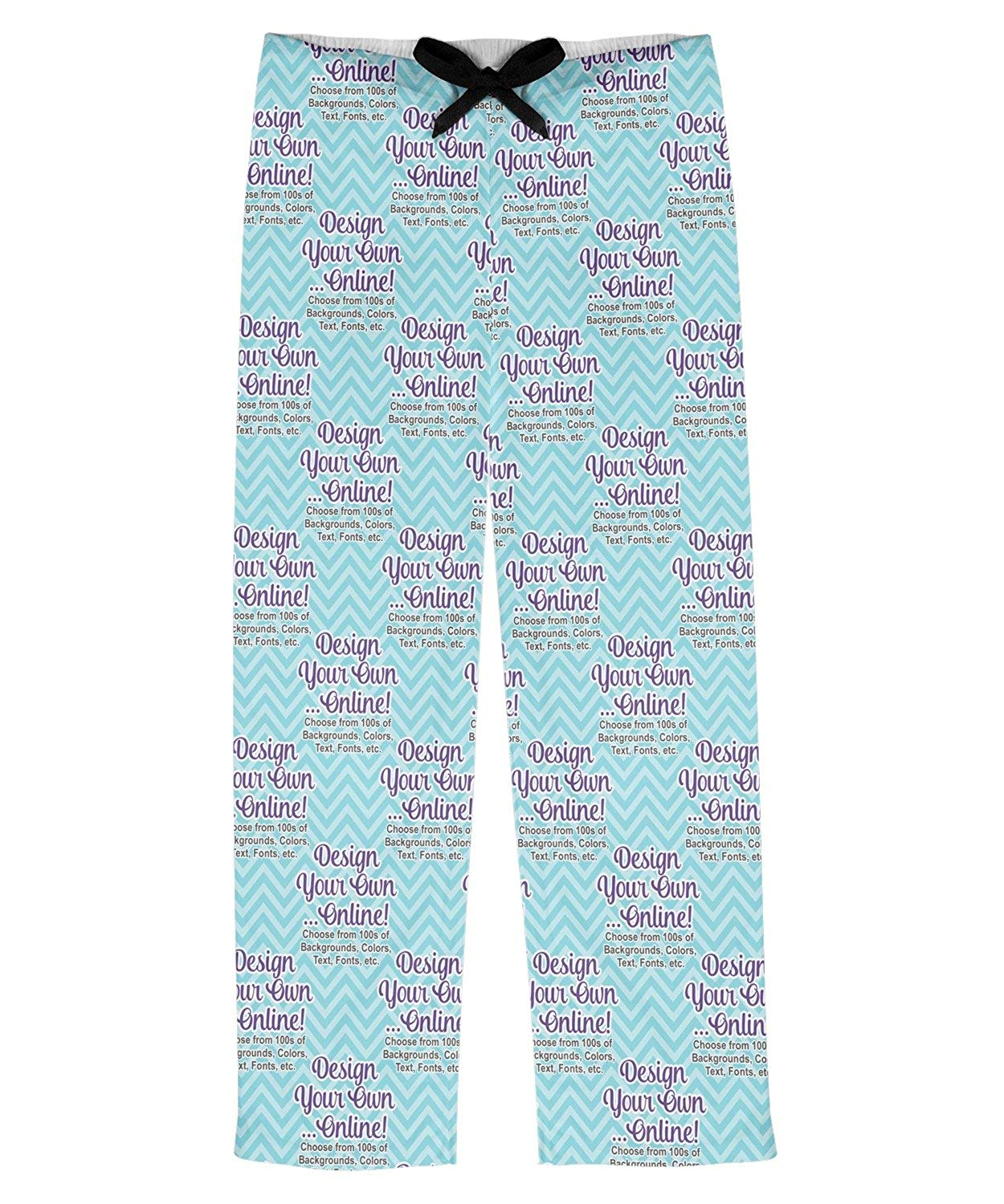 RNK Shops Design Your Own Mens Pajama Pants (Personalized)