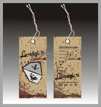 Clothing hang tag for jeans t shirts sweater buy hang for Custom t shirts with custom tags