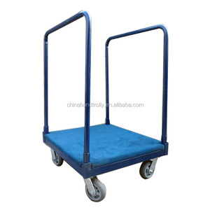 Wholesale price load 1000lbs platform carpet trolley