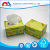 Baby Soft Pack Tissue 100% Virgin Wood Pulp Small Pack Facial Tissue