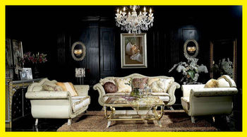 Bisini Top Quality Italian Style Luxury Sofa Furniture Elegant Living Room Royal Design Set