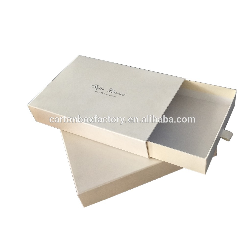 Corrugated logo packaging custom design luxury shipping gift box for packing clothes