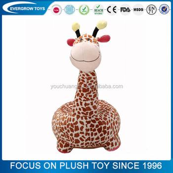 Genial Hot Sales Plush Baby Animal Sofa Chair Giraffe Shaped Sofa Chairs Soft  Stuffed Kids Animal Sofa
