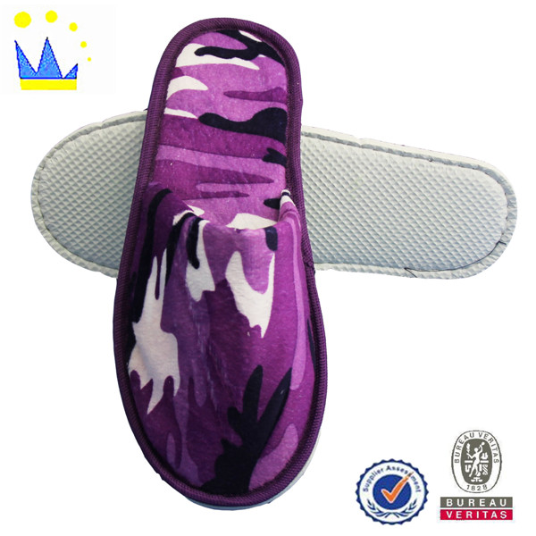 promotional company profile comfortable terry slippers