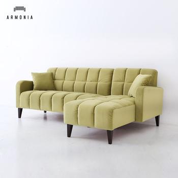 Lounge Suite Living Room Small Velvet Sofa Set