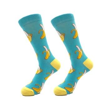 74f7f8b52 Calcetines de plátano hombres calcetín de algodón peinado fruta calcetines  para niños