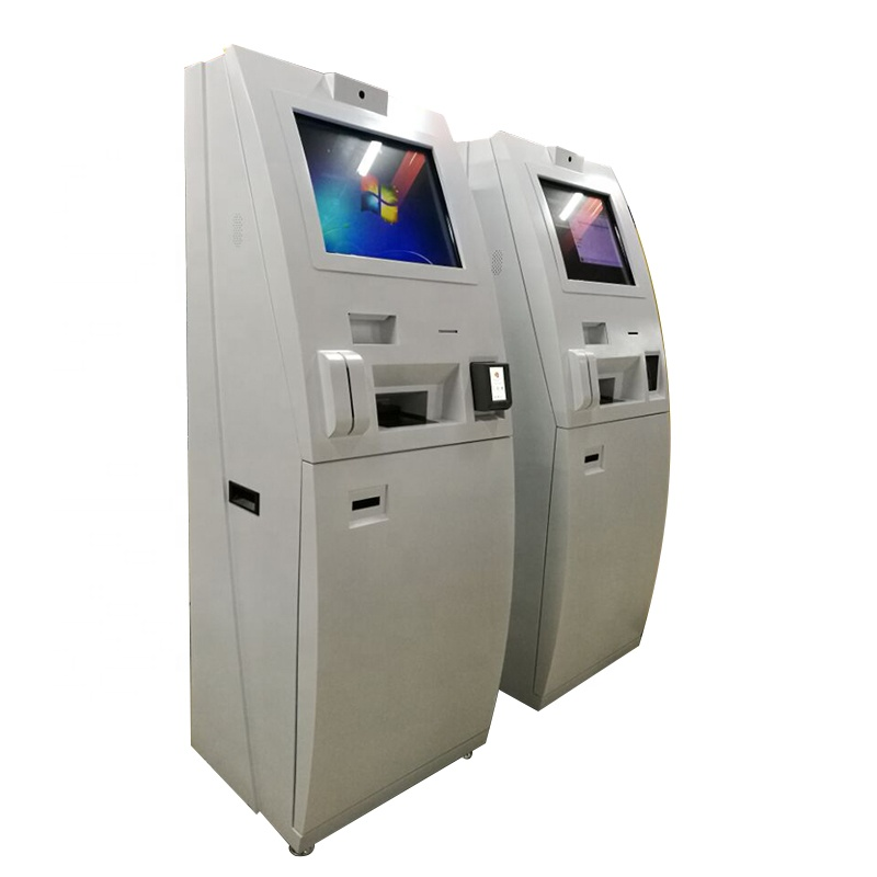 Atm Bank And Cash Machine Kiosk With Cash Deposit/Acceptor <strong>Payment</strong> Terminal