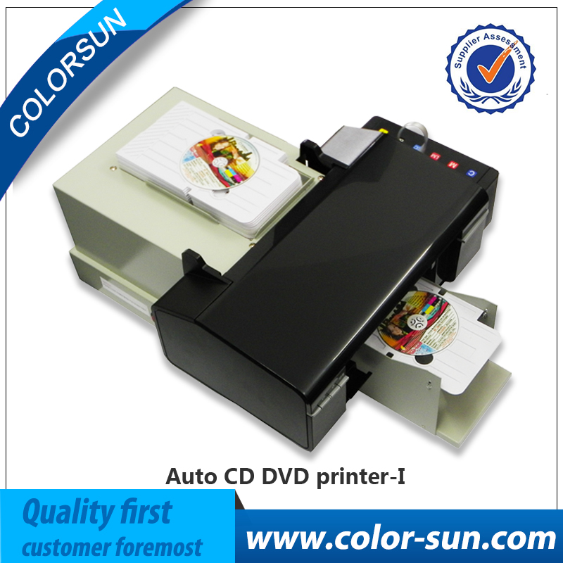 Automatic inkjet grade 50pcs CD 100pcs pvc cards printer upgraded from L800