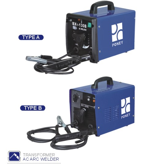 TRANSFORMER AC ARC WELDING MACHINE BX1-130 PONEY