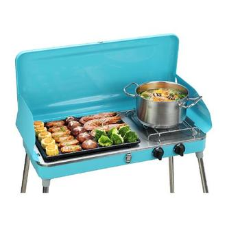 Portable Outdoor And Indoor Barbecue Gas Bbq Grill