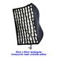 "Photography Umbrella type Softbox 24"" x 36"" with Grid for Canon Nikon or Alien Bees 6090GD"