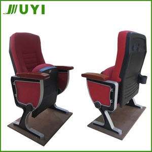 JY-989 Antique Movable 5D Stackable Cinema Seats Plastic For Home Used For Wooden Theater 5D Movie Chairs Auditorium Seating