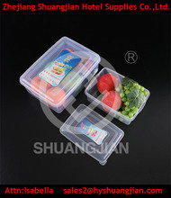 Cheap plastic takeaway food container disposable lunch box