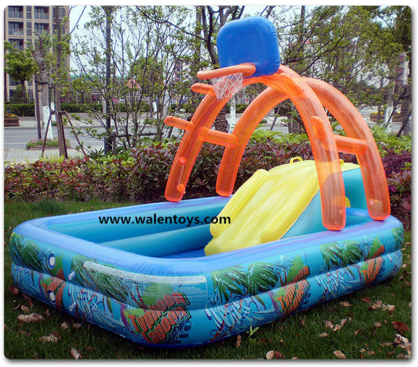 Kids Swimming Pool With Slide