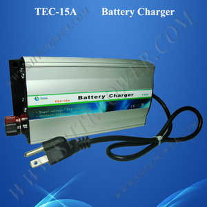 New ac 120v input to dc 12v output 15a gel battery charger for car