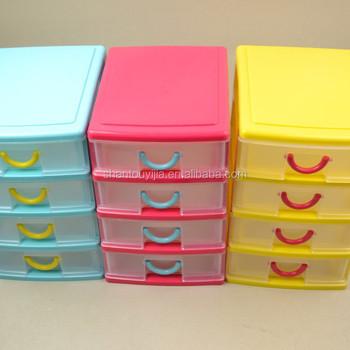 Rectangle Small Plastic Drawer Organizer