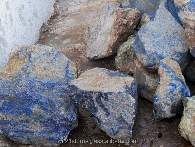 Lapis lazuli rough big chunks fresh lots for sale