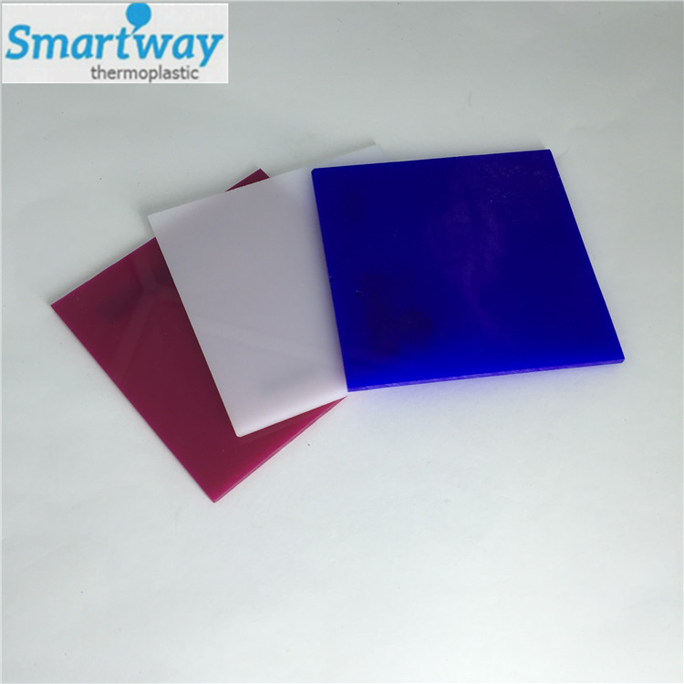 decorative plastic long time using good quality hard acrylic sheet