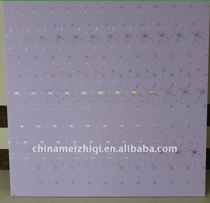 HOT stamp 595*595*7mm Square PVC ceiling