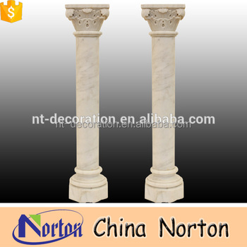 Greek style indoor marble wedding decorative pillars and columns NTMF-C327A