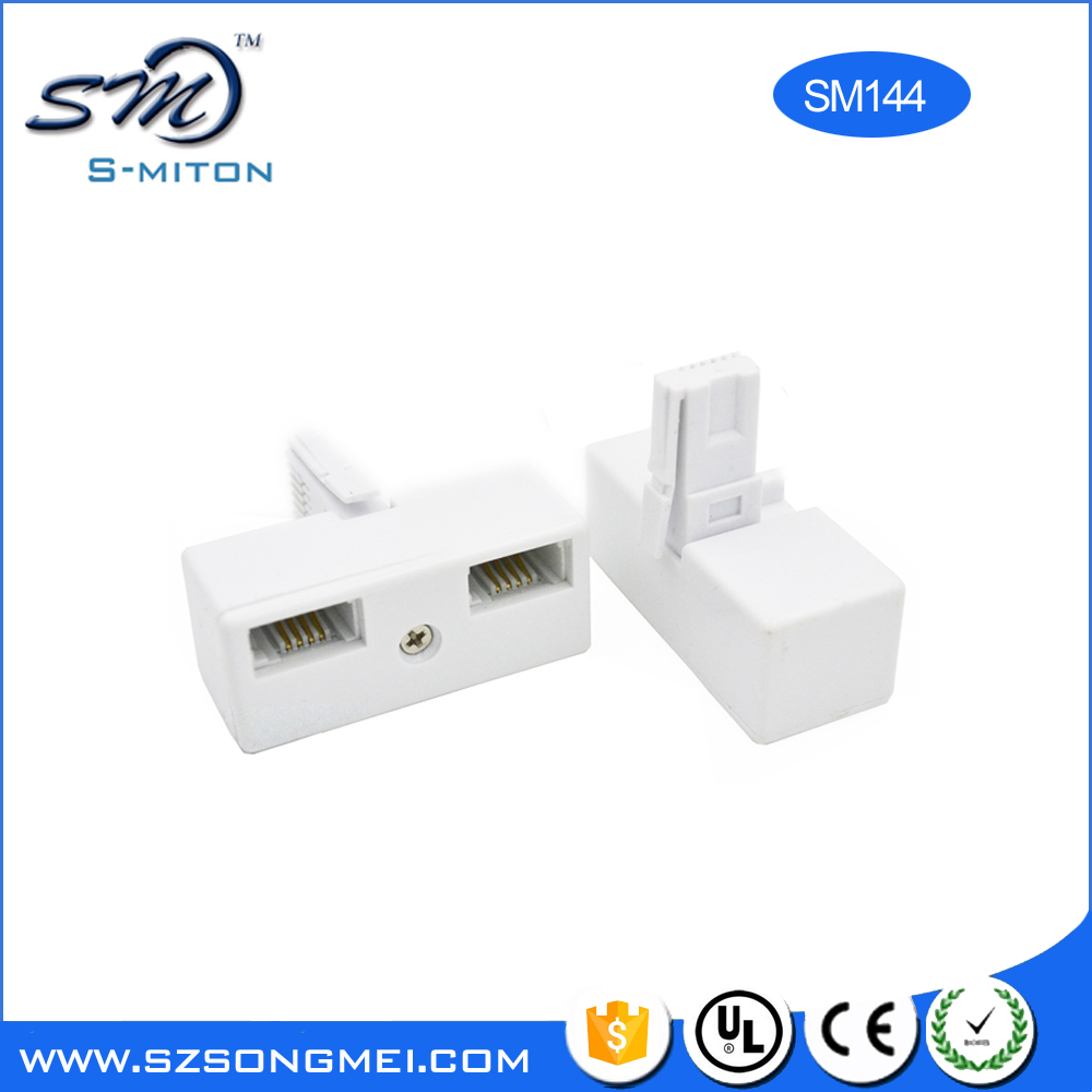 BT 2 Way Telephone Splitter 1 to 2 Sockets
