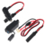 12/24v 26awg 3a fused car cigar cable micro usb car charger car cigarette lighter to mini usb micro usb