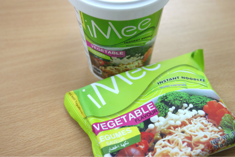 iMee Premium Instant Noodles: Vegetable Flavor
