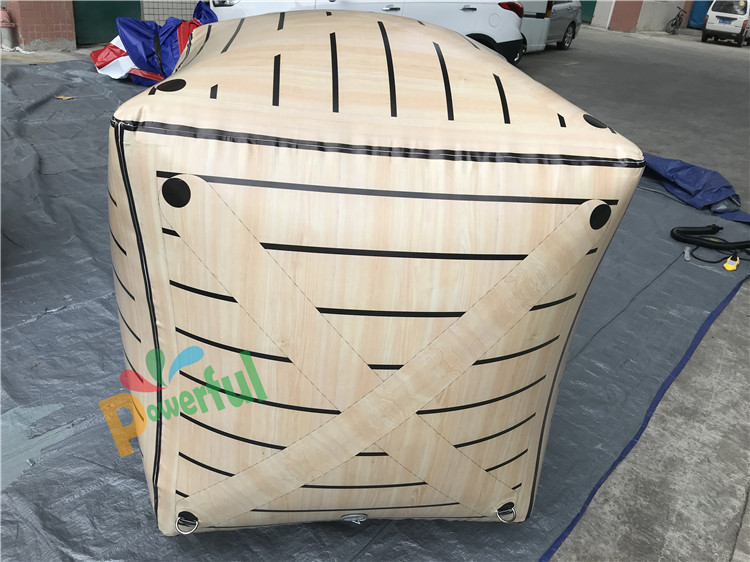 archery tag inflatable bunker inflatable Rusted Oil Barrel for sale