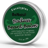 Eucalyptus Fragrance Beard Wax For Beard Care , Supply Private Label