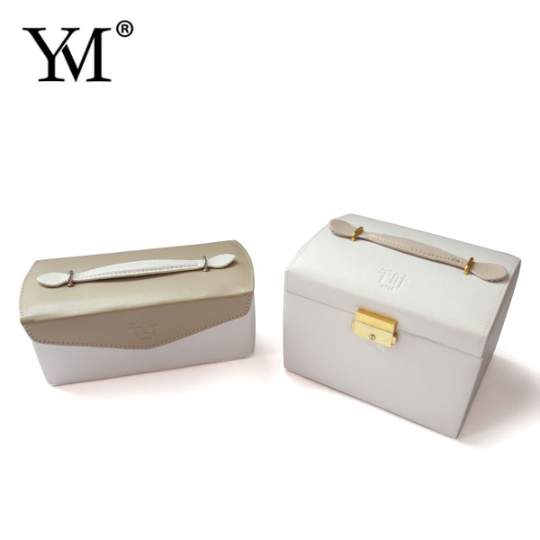 Trade Assurance Supplier flat pu leather velvet jewelry case