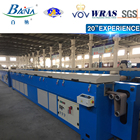 Professional manufacturer supply epdm rubber extrusion vulcnaizing line extruder machine